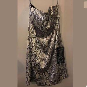 Victoria's Secret London Dress~snakeprint~Sz 4~NWT
